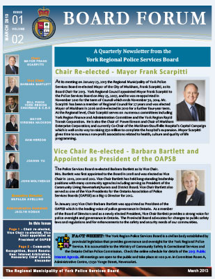 Snapshot of March 2013 Newsletter