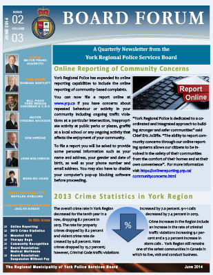 Snapshot of June 2014 Newsletter