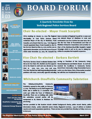 Snapshot of March 2014 Newsletter