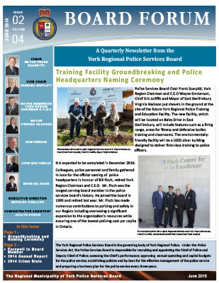 Snapshot of June 2015 Newsletter