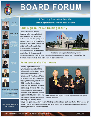 Snapshot of June 2016 newsletter